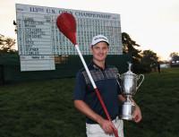 Justin Wicker & Trophy