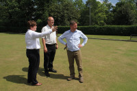 King George V Bowls Club Mark Allen 2