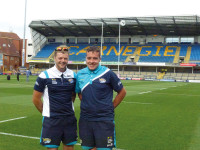Leeds Rhinos Dan and Leon