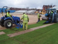 Photo 7 - Laying of imported turf.jpg