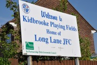 Kidbrooke Playing Fields are home to Long Lane Junior Football Club, the largest in London