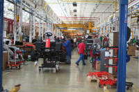 ransomes factory floor