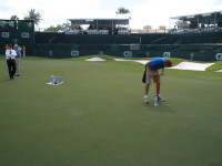 Hole Changing at Doral