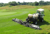 IMG_1208A  Weed control to surrounds & roughs using shrouded boom sprayer  Pyrford.jpg