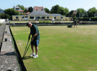 Senior greenkeeper, Steve Weeks
