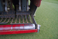Aeration close up