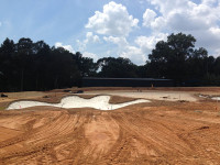 Construction of new practice facility Quail Hollow Club