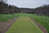 Speedcut constructed this new artificial pathway at Chislehurst Golf Club DSC 0658