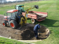 5. Bunker renovation work underway