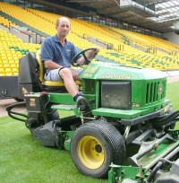 Gary Kemp-Norwich City FC Head Groundsman