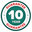 10 Year Guarantee Badge