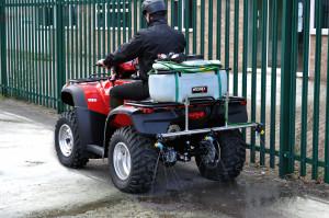 Brine ATV Winter Snow