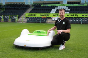 ETMower at Forest Green Rovers