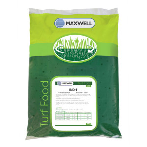 Maxwell Turf Food Bio 1 Organic Fertiliser
