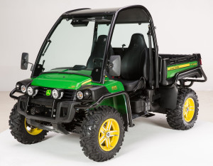 New John Deere XUV 825i Gator utility vehicle