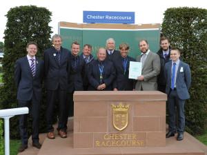 Chester Groundstaff Award Presentation
