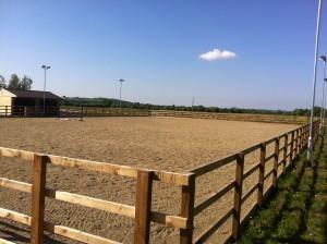 White Horse Contractors complete Pound Farm Livery and Equine Services equestrian centre