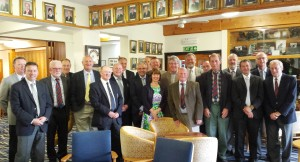 David Mears and Paul Dyter from Highspeed and Burley's Jane Harfield are joined by the Secretaries and Greenkeepers