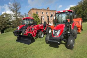 TYM T353, T503 and T603 at Edgbaston Golf Club