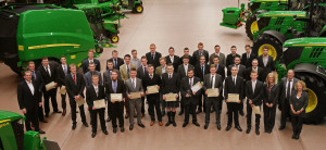 John Deere apprentice graduation group 2015