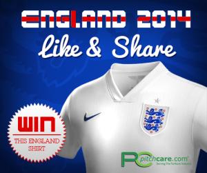 PC Facebook Englandshirt