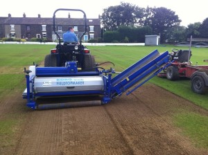 Koro FTM working on cricket pitch