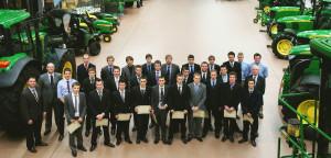 John Deere Ag & Turf Tech graduation group