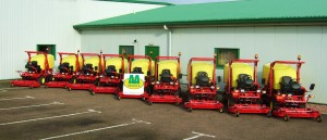 Gianni Ferrari mowers supplied by specialist grounds care equipment supplier Double A