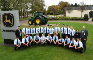 John Deere training group B Ag & Parts Tech