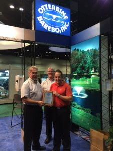 PR4172 Otterbine Distributor of the Year