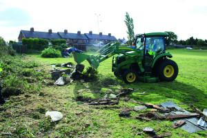 Bagworth clean up