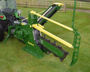 The Shelton CT100 Chain Trencher hi res