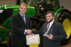 John Deere Parts Apprentice of the Year 2015 Grant Stearman