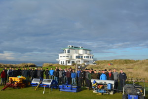 Campey demo day at Castle Stuart Inverness 2014