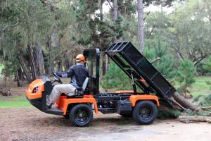 Jacobsen Truckster XD.working