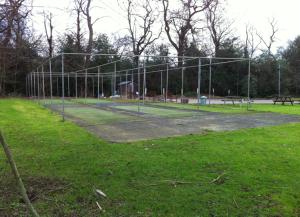 Botany Bay CC's old cricket practice nets