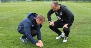 Myerscough Ryan with Roberto Martinez