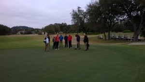 Cold, but wonderful TPC San Antonio