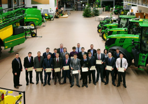 John Deere 2013 apprentice graduation group