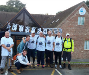 BIGGA Charity trek