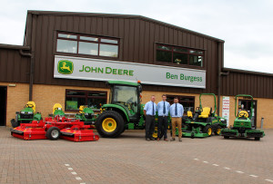 Ben Burgess to expand turf sales area