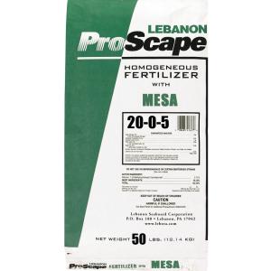 Lebanon ProScape 20-0-5+1%Fe 30% MESA