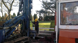 water Nottingham GC drilling