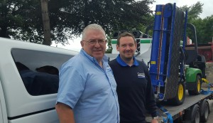 Richard Campey and new Product Specialist Ben Taylor