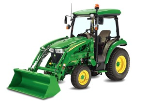 3045R compact tractor + H165 loader studio