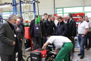 Etesia Factory visit