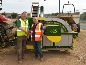 Richard Clark & Russ Smith with Supertrencher+ 760