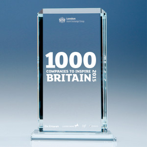 LSE 1000 companies trophy