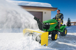 New John Deere snowblower