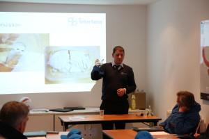 Dave Orchard demostrates Formulation Technology
